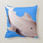 dangerous shark pillow