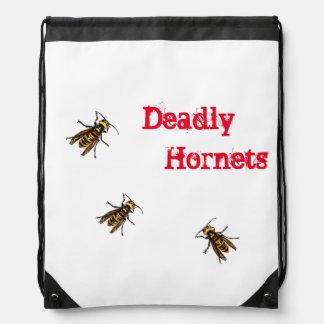 """""""Dangerous sparrow bee"""" bag"""
