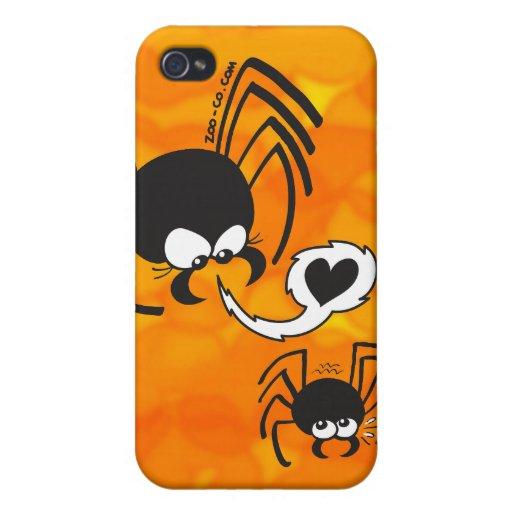 Dangerous Spider Love Covers For iPhone 4