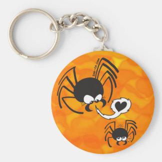 Dangerous Spider Love Keychain