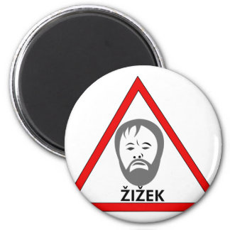 dangerous thoughts 2 inch round magnet