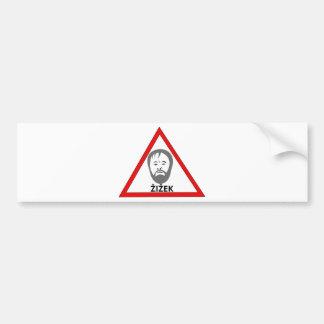 dangerous thoughts bumper sticker