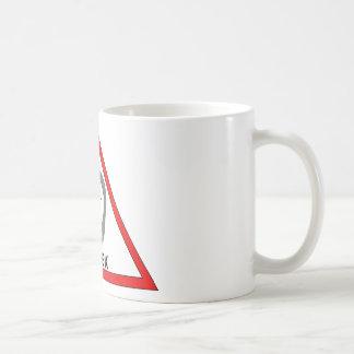 dangerous thoughts coffee mug