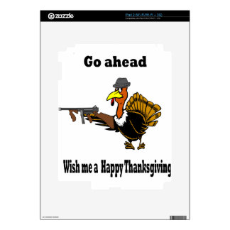 dangerous turkey decal for iPad 2