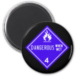 dangerous when wet fridge magnets