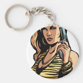 Dangerous Woman Keychain