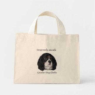 Dangerously Adorable tri colored cavalier bag