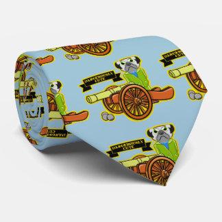 Dangerously Cute Pug Wearing Tracksuit Tie