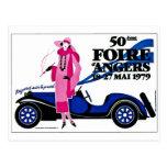 d'Angers de Foire - anuncio del francés del vintag Tarjetas Postales