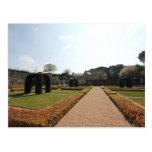 d'Angers del castillo francés - jardín dentro de l Postales