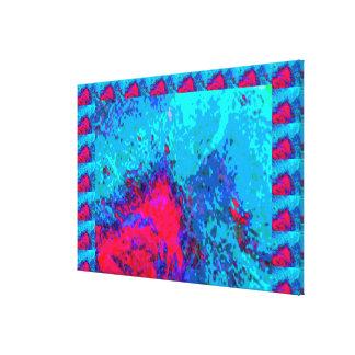 Dangers of Deep Sea Canvas Print