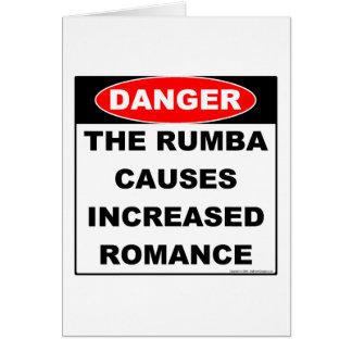 Dangers Rumba Notecard