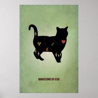 Dangerzones of a cat poster