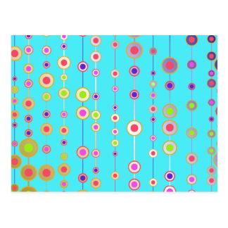 Dangling Dots Postcard