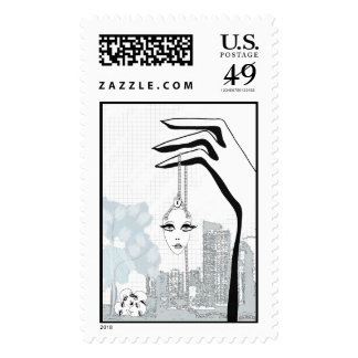 Dangling Participles Postage Stamps