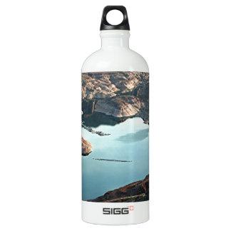 Dangling Rope Marina. Lake Powell, Utah, USA Water Bottle