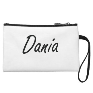 Dania artistic Name Design Wristlet Clutches