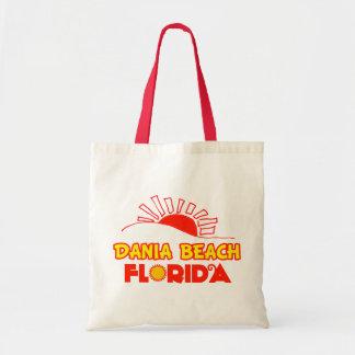 Dania Beach, Florida Budget Tote Bag