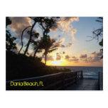 Dania Beach Sunrise Post Card
