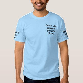 Danica aka jamaican princess embroidered T-Shirt