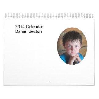 Daniel 2014 Calendar II