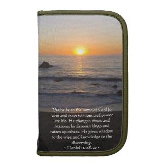 Daniel 2:20& 21 folio planner