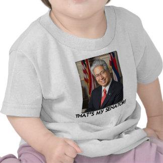 ¡Daniel Akaka de que es mi senador Camisetas