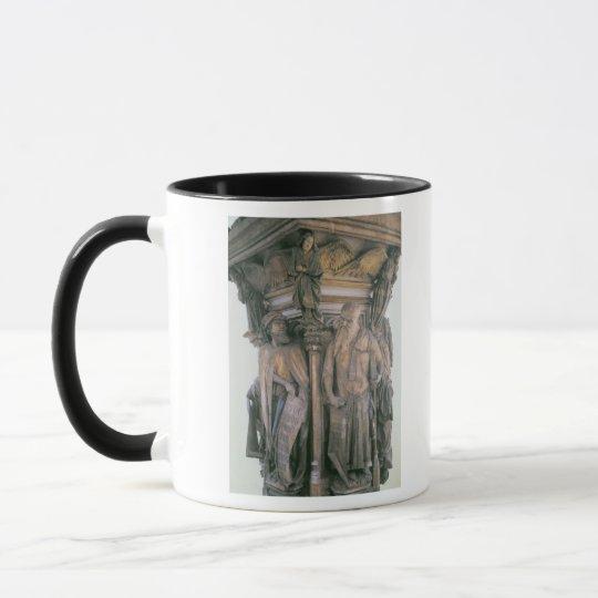 Daniel and Isaiah in Dispute, hexagonal pedestal Mug