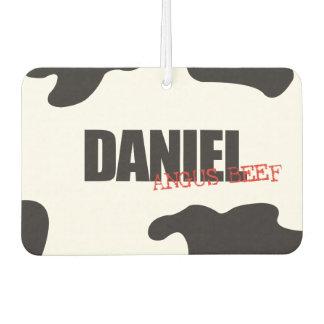 "Daniel ""Angus Beef"" Trendy Air Freshener"