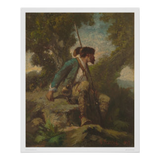 Daniel Boone (1251) Poster