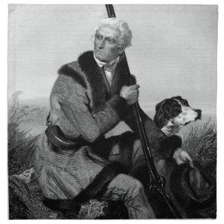 Daniel Boone Cloth Napkins