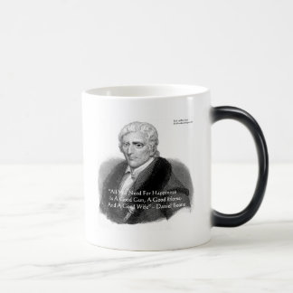 Daniel Boone Humor Quote Gifts Tees Cards Etc 11 Oz Magic Heat Color-Changing Coffee Mug