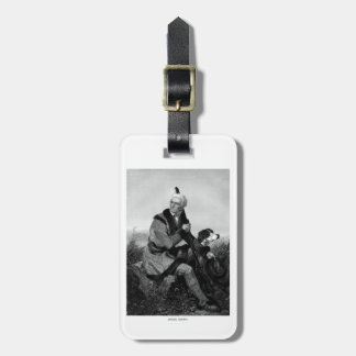 Daniel Boone Travel Bag Tag
