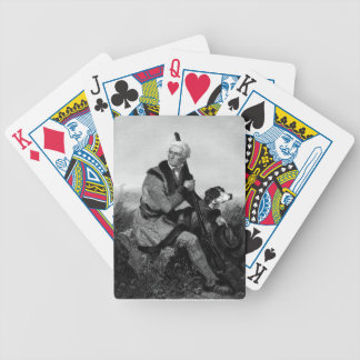 Daniel Boone Playing Cards