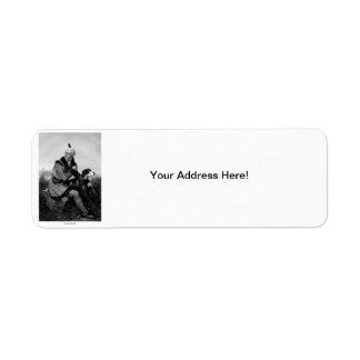 Daniel Boone Return Address Labels