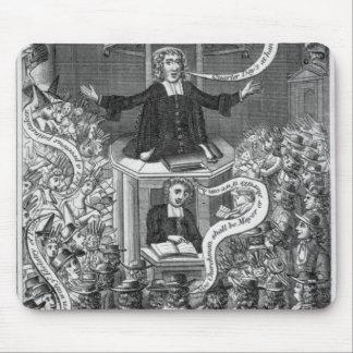 Daniel Burgess, illustration from 'Portraits Mouse Pad
