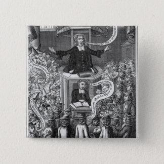 Daniel Burgess, illustration from 'Portraits Pinback Button