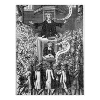 Daniel Burgess, illustration from 'Portraits Postcard