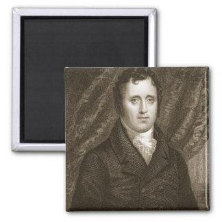 Daniel D. Tompkins (1774-1825) grabado por Thomas Imán Cuadrado
