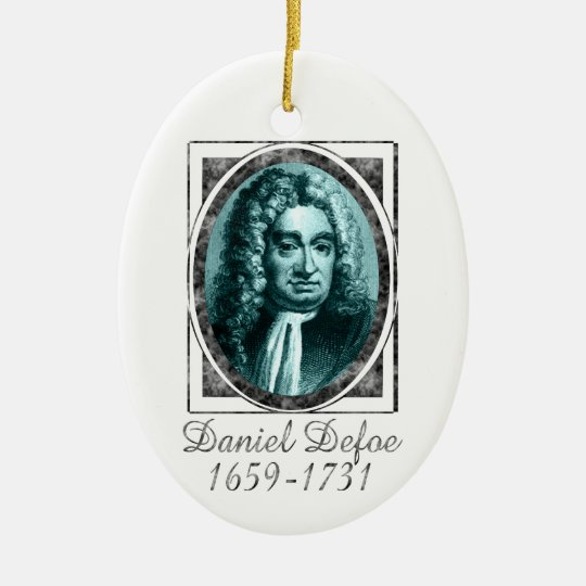 Daniel Defoe Ornament