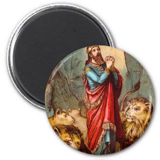 Daniel en el imán de la guarida del ` s del león