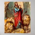 Daniel en el poster de la guarida del ` s del león