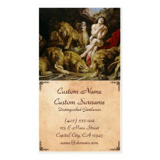 Daniel en la pintura de Peter Paul Rubens de la gu Tarjeta De Visita