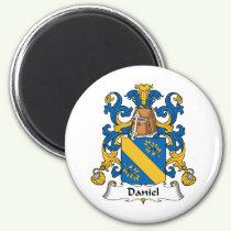 Daniel Family Crest Magnet