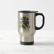 Daniel Family Crest Mug
