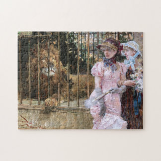 Daniel Hernández Morillo: At the Lion Cage Puzzles