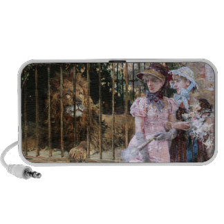 Daniel Hernández Morillo: At the Lion Cage Portable Speakers