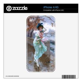 Daniel Hernández Morillo: Parisian Girl Skins For iPhone 4S
