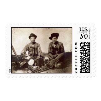 Daniel Hull & CD Gorman Civil War wis 8th Eagle Rg Postage
