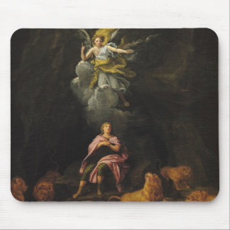 Daniel in the Den of Lions Mouse Pad